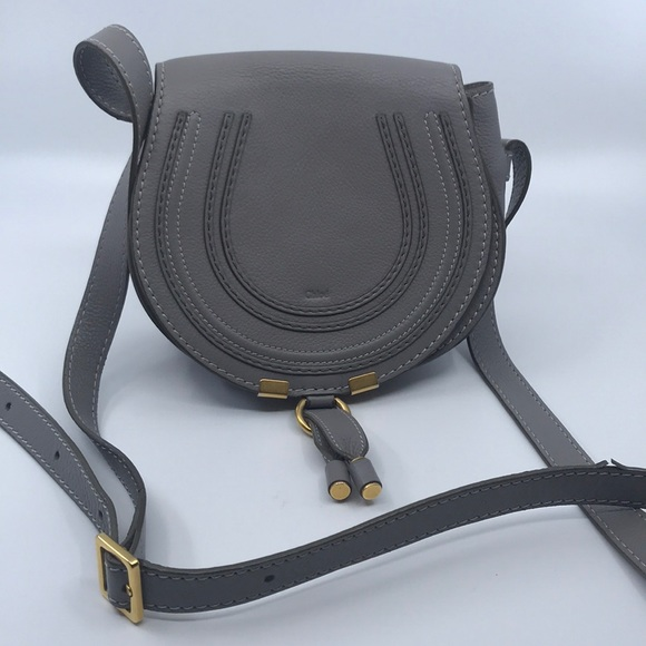 c8d5a05e6d Chloe Bags | Mini Marcie Gray Cross Body Bag | Poshmark